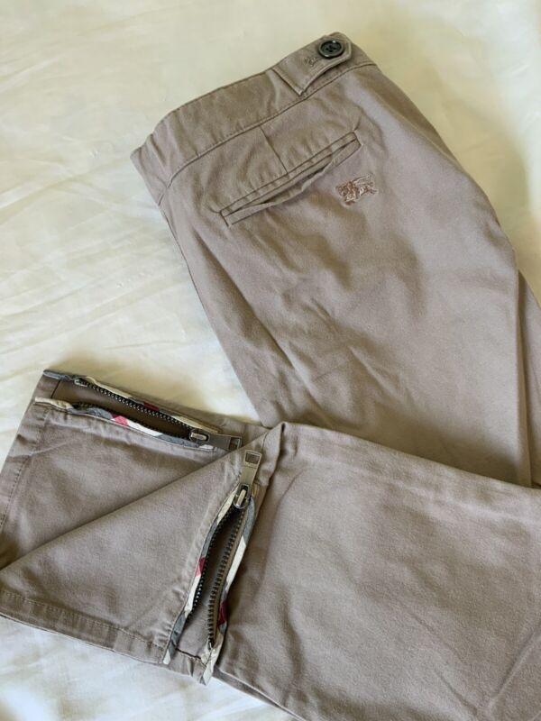 Burberry Khakis Pants, Kids Size 10, Authentic
