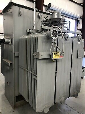 Ge Substation Transformer 2000 Kva Primary 12470 Delta - Secondary 480y277