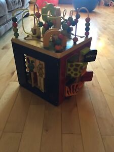 Wooden Activity Cube Ages 1-3