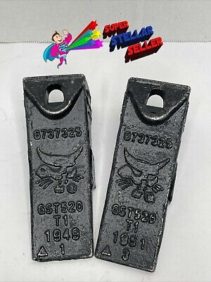 Lot Of 2 Genuine Bobcat 6737325 Dirt Toothbucket Teeth
