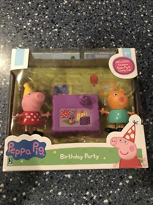 Peppa Pig Birthday Party Figures Collect Them All New Candy Cat. Free SnH