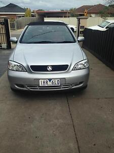 2002 Holden Astra Convertible Thomastown Whittlesea Area Preview
