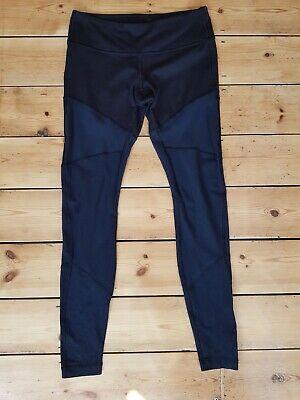 Lululemon Leggings, Black/Blue, Size US 8/UK 10
