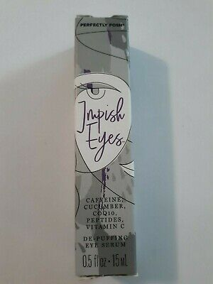 De Puffing Eye Serum - Perfectly Posh Impish Eyes De-Puffing Serum, Rare, HTF, New and Sealed