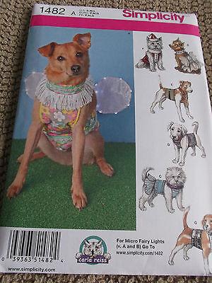 Nähen Muster S1482 Hund Haustier Kleidung Kostüme 7 - Großer Hund Kleiner Hund Kostüme
