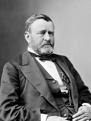 Ulysses Grant 18th President Of The United States 8.5x11 Classic Portrait Photo
