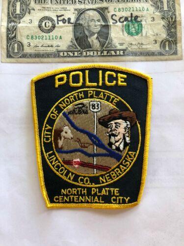 Lincoln County Nebraska Police Patch (North Platte) Un-sewn in great shape