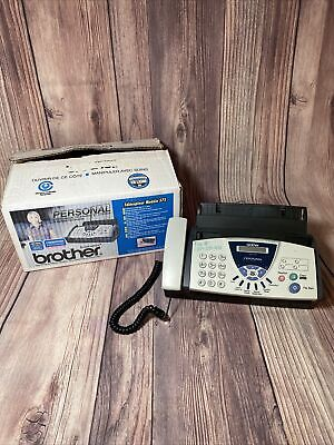 Brother Fax-575 Personal Fax With Phone And Copier. Gently Used Works