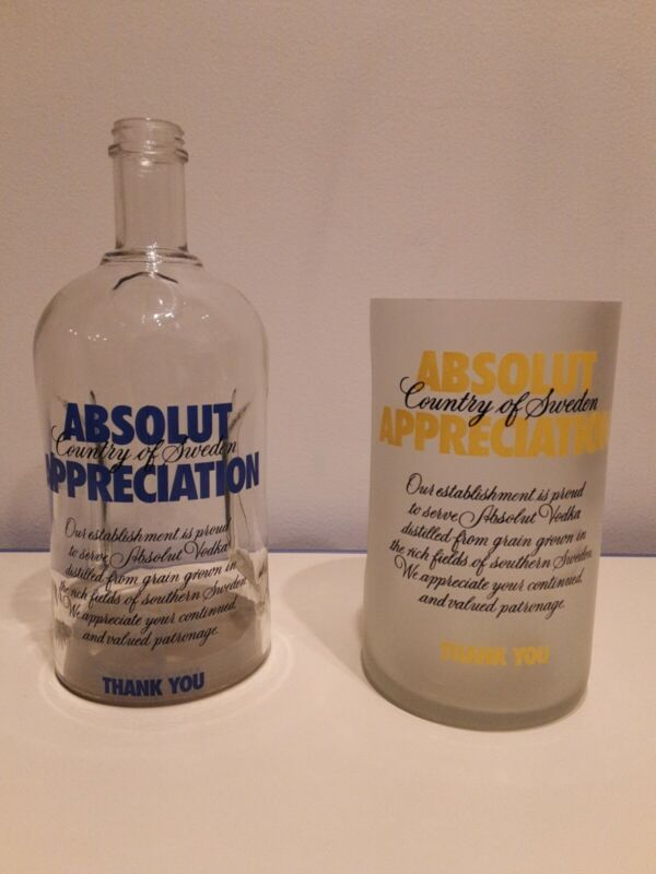 Absolut Vodka Appreciation Tip Jars *RARE*