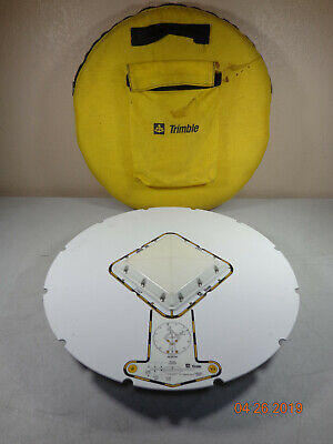 Trimble Geodetic L1/L2 GPS Antenna With Ground Plane 22020-00 and carry case #C ()