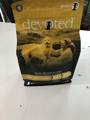 Devoted Grain Free Chicken Dry Dog Food. 2kg. Free Delivery
