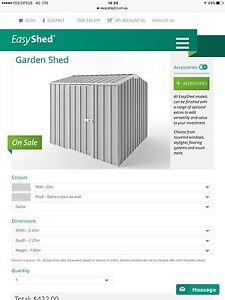 install garden shed Quakers Hill Blacktown Area Preview