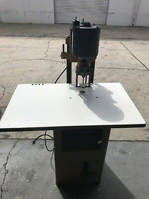 Used Challenge Jf Paper Drill Spinnit Single-hole Punch Machine