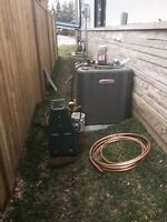 Furnace, Ac, Heating, Ductwork, Venting, Relocation, Gas Line