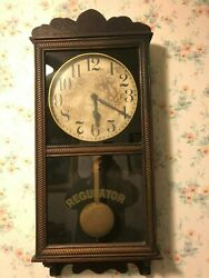 NEW HAVEN ANTIQUE WALL CLOCK