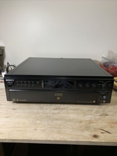 SONY C333ES MULTI CD CHANGER - 5 Disc SACD CD Changer Beautiful Tested - $279.99