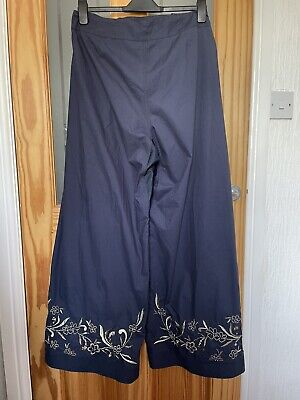 Maharishi Metallic Garden Trousers, Hand Worked, New With Tags, Size 12