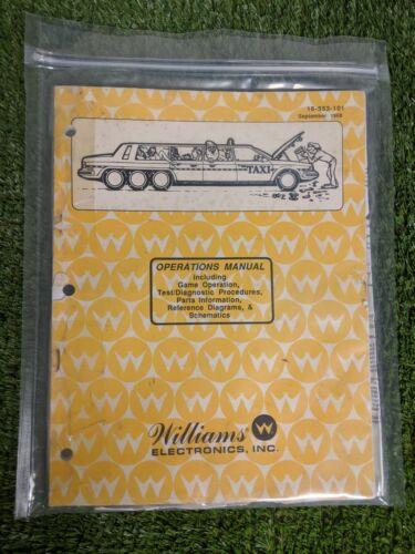 Taxi by Williams Pinball Manual
