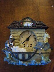 Noah's Ark Shelf Clock 1995