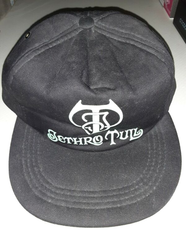 JETHRO TULL Old Vintage Concert Adjustable Hat,Really K@@L Used Condition Clean