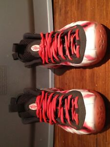 Foamposite thermal map/red blossom