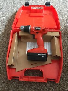 Wireless black & decker drill