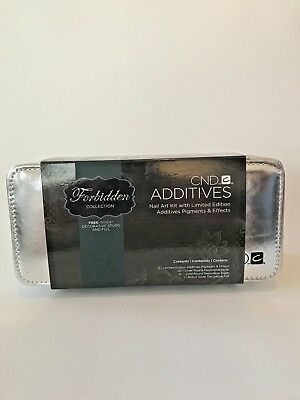 CND Additives Forbidden Collection With Free Nail Art Case. NEW