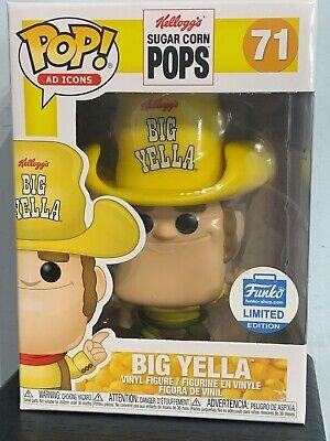 Funko Pop - BIG YELLA 71 - Kellogg's Sugar Corn Pops - AD Icons Funko Shop [6]