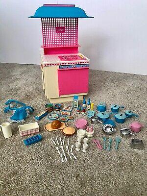 1984 Mattel Barbie Dream Kitchen Set and accessories, #9119