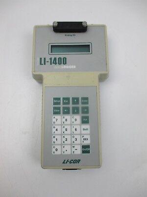 Li-cor Li-1400 Data Logger Analog Io Biosciences Field Unit