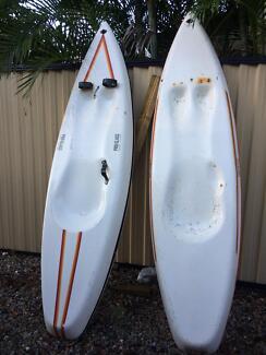 2x Surf Skis