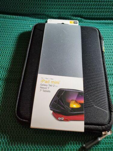 "Case Logic iPad Mini 7"" Tablet Case Folio Pocket Black"