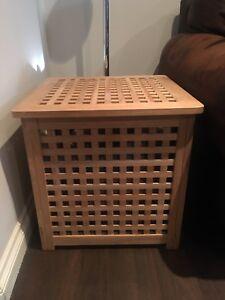 IKEA Pine Storage Box