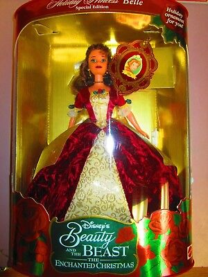 Disney Princess Belle Beauty and the Beast The Enchanted Christmas 1997