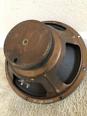 1)Vintage Fender Speaker 12inch -16 Ohm