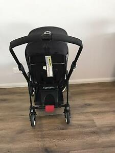 Bugaboo 3 all black inkl seat liner and cocoon Kellyville The Hills District Preview