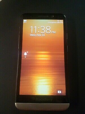BlackBerry Z30 16GB STA100-3 Black Unlocked Verizon gsm at&t t-mobile GREAT buy