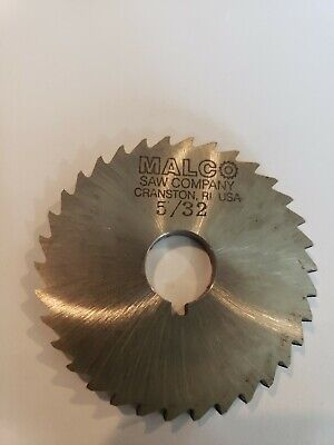 "Union Butterfield 5/"" x 5//32/"" x 1/"" High Speed Metal Slitting Slotting Saw"