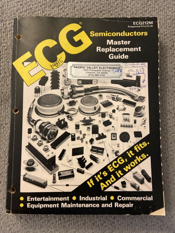ECG Semiconductors Master Replacement Guide OEM