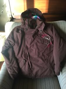 Burton ski jacket girls size 7/8