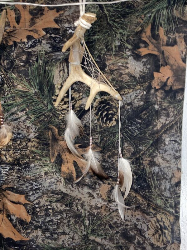 Handmade Quality Real Whitetail Antler Dreamcatchers Made In The USA