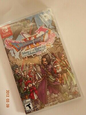 Nintendo Switch - Dragon Quest XI S Echoes Of An Elusive Age Definitive Edition!