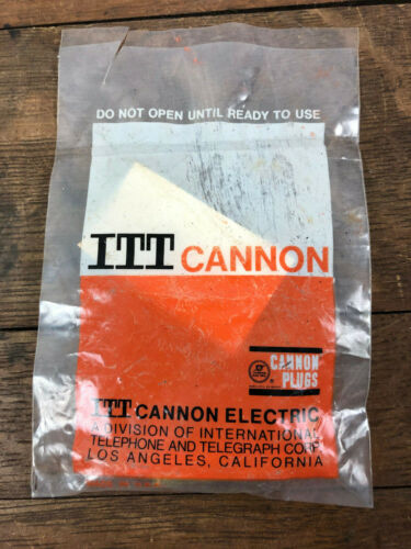 NOS - ITT CANNON DB-B21C1P  ELECTRICAL RECEPTACLE CONNECTOR