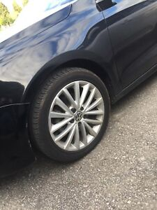 17 inch VW 5x112 wheels with tires $650