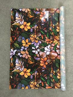 92 CM x 6 M - Gardenia Static Window Glass Film Reusable Frosted