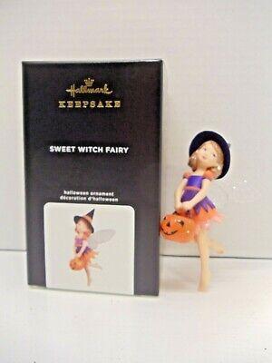 2020 Hallmark Sweet Witch Fairy Halloween Ornament NIB