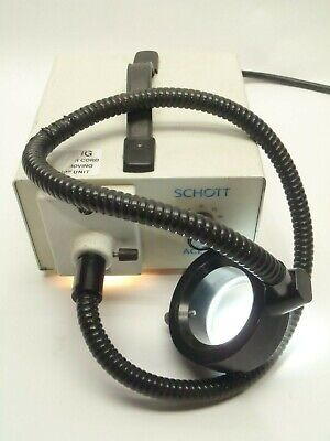 Schott 20500 Ace 1 150w Eke Fiber Optic Illuminator Light Source Wring Light
