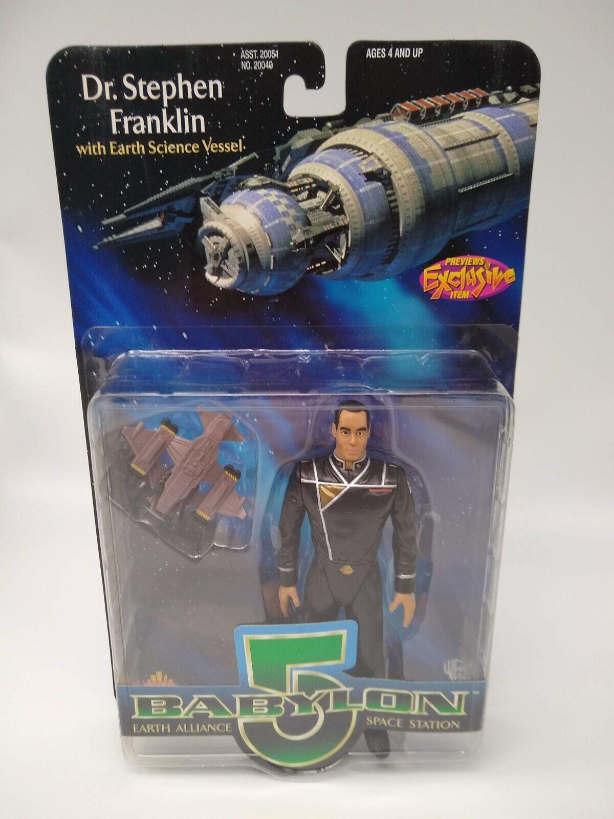 Babylon 5 Dr. Stephen Franklin Previews Exclusive - Factory Sealed