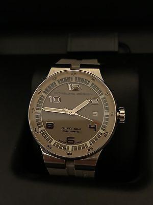 Porsche Design P'6351 Flat Six Gray Dial Automatic Men's Watch 6351.41.54.1263