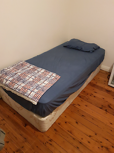 Single bed and mattress Earlwood Canterbury Area Preview